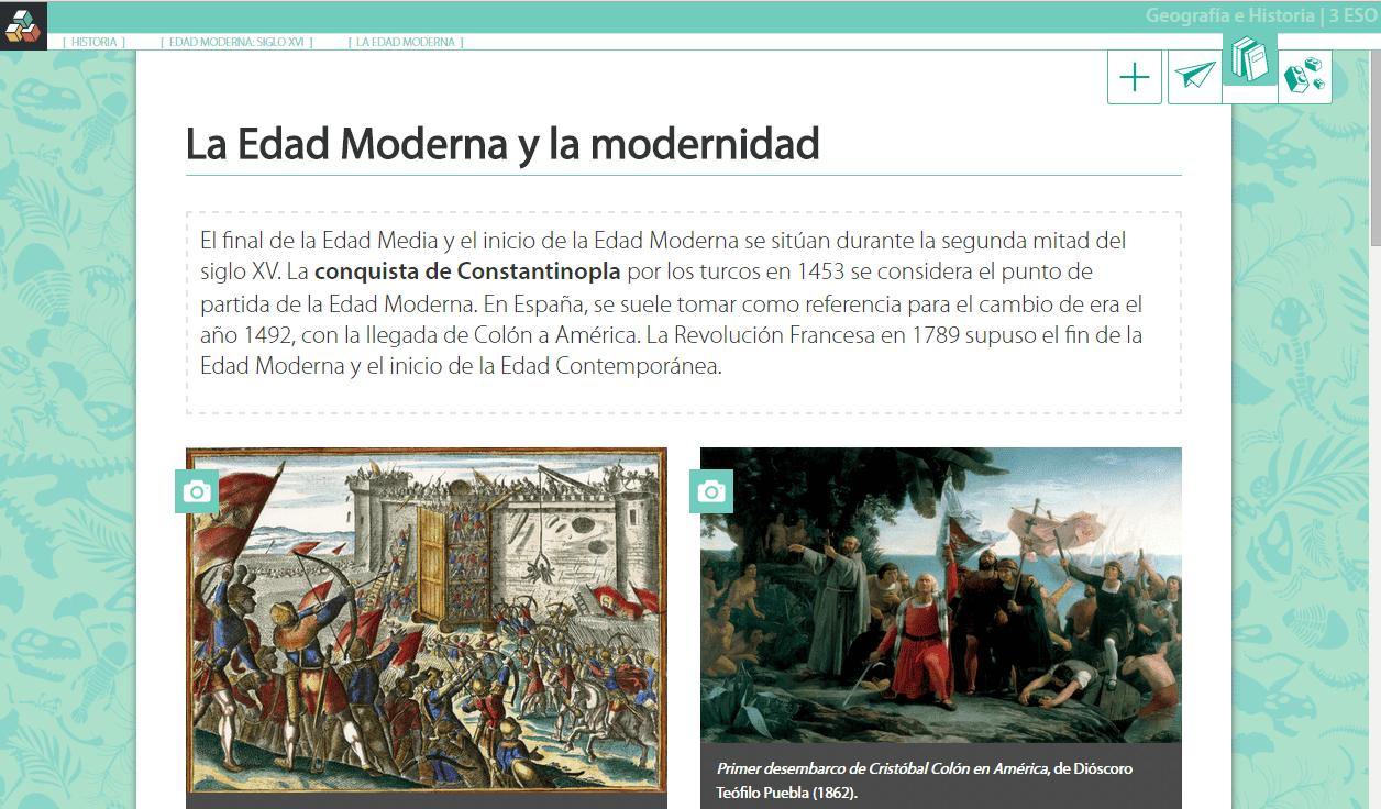 Flippeando La Edad Moderna Con Digital Text The Flipped Classroom