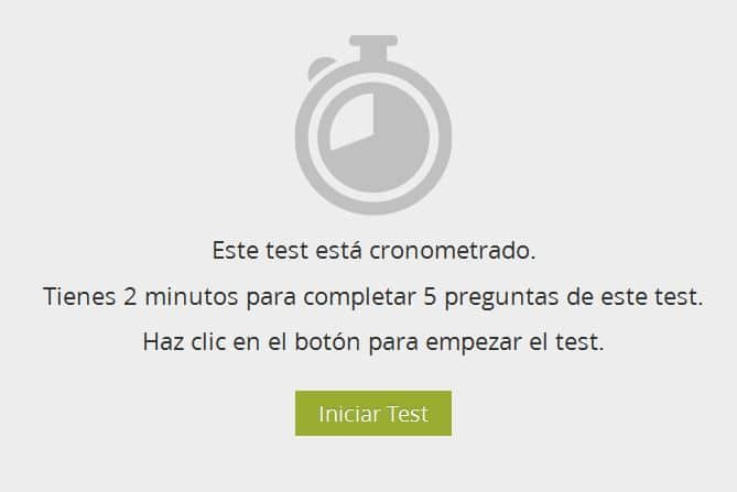 Test Cronometrado GoConqr