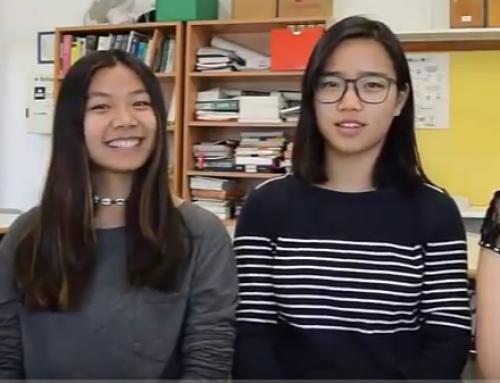 La experiencia Flipped de Esther, Laura, Xin Yi y Stefania