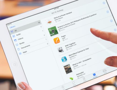 iTunes U  La clase en el iPad – Novedades 2016
