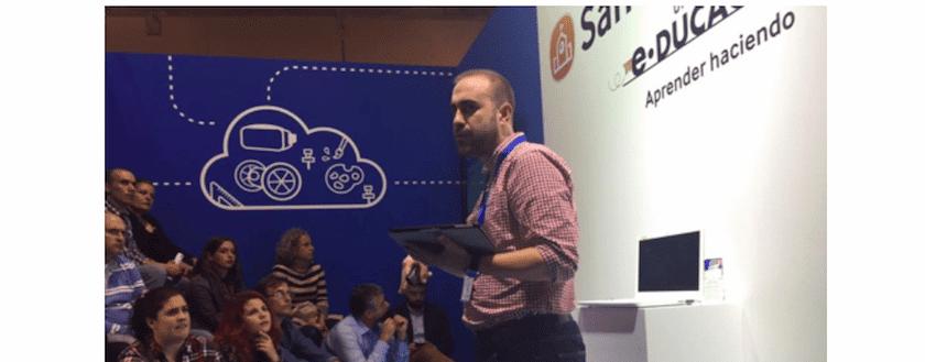 Hablando de Flipped Classroom en SIMO EDUCACIÓN 2016