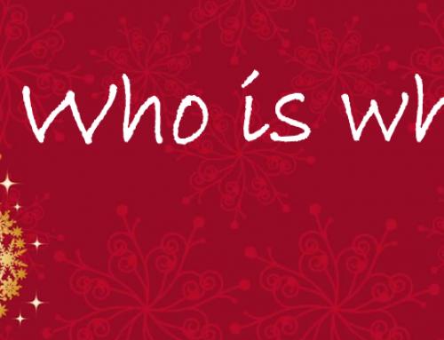 Who is who?¿Encontrarán tus alumnos la palabra secreta?