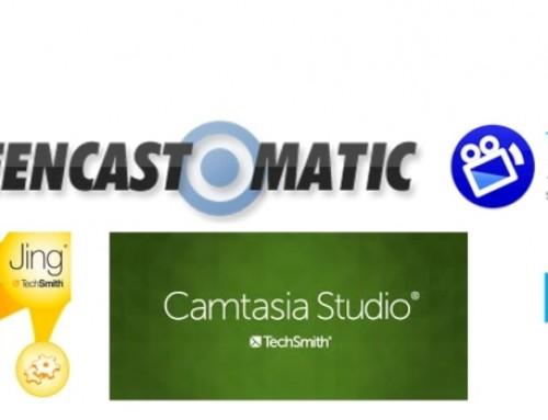 Las mejores herramientas para crear vídeos educativos capturando pantalla y webcam