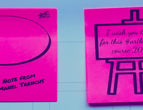 Empoderar el factor Relacional con post-its y stickers
