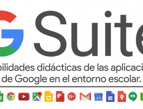 Infográfico interactivo: Posibilidades didácticas de las aplicaciones de Google.