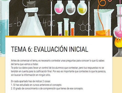 Evaluando de otra manera: la evaluación inicial (1 de 3)