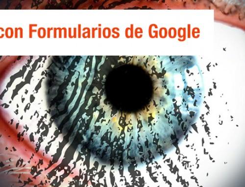 Personalización de aprendizaje con Formularios de Google