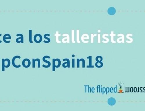 Conoce a los talleristas del FlipConSpain18