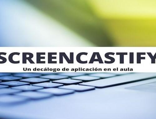 Screencastify: un decálogo de aplicación en el aula.
