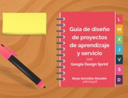 Guía de diseño de proyectos de aprendizaje y servicio con Google Design Sprint