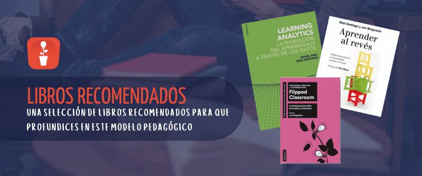 Libros recomendados sobre Flipped Classroom